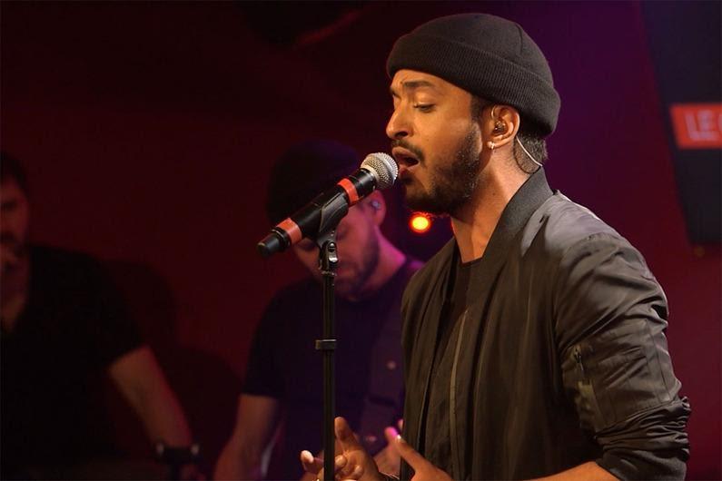 Slimane en concert à Strasbourg