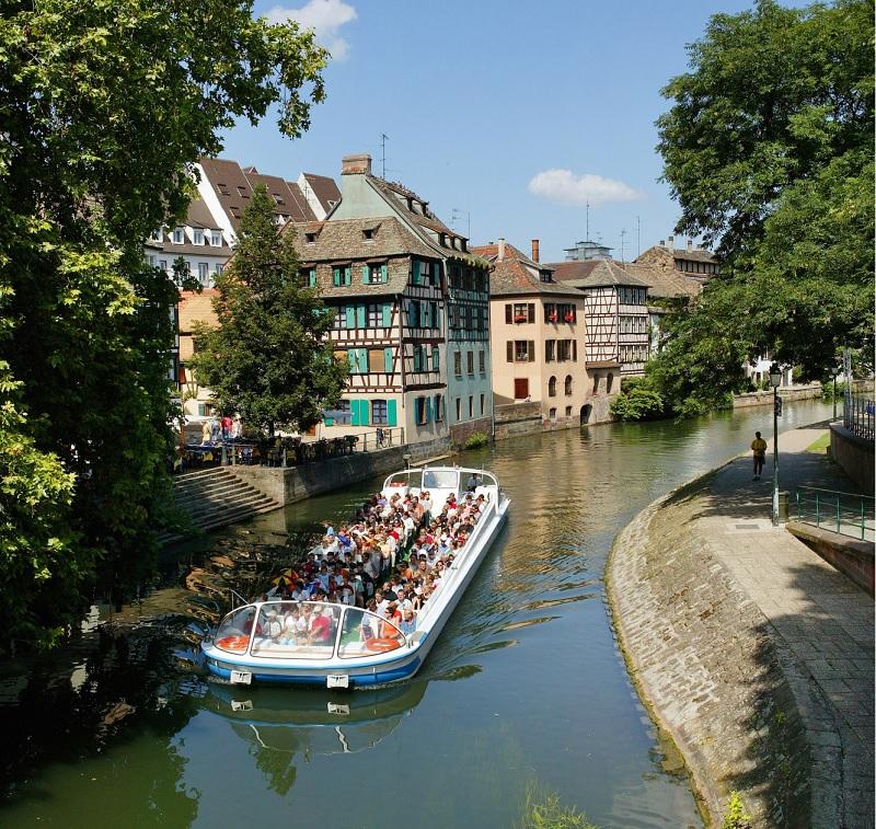 Visiter Strasbourg en bateau